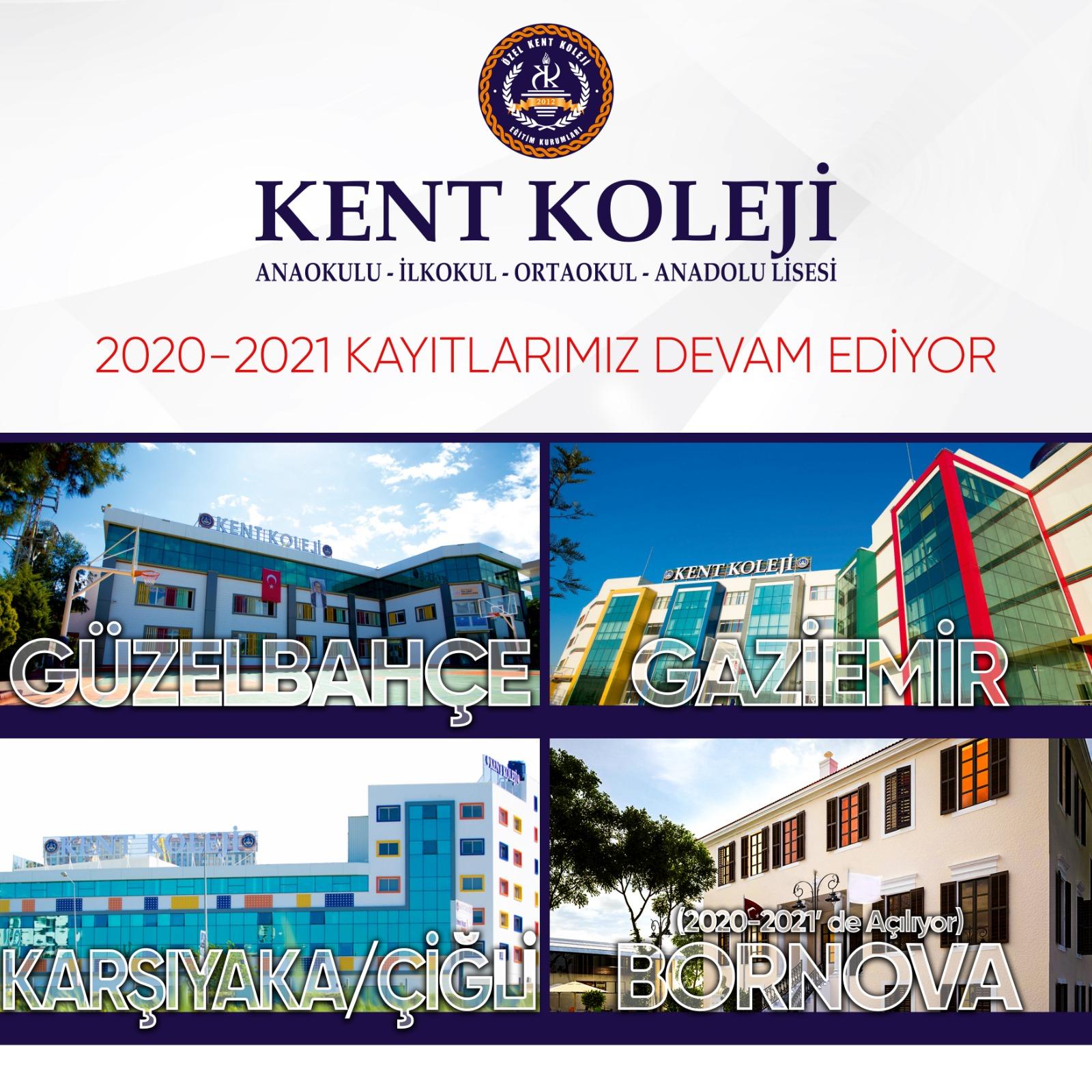 2020-2021 Eğitim ve Öğretim Yılı Kent Koleji Kayıtları Başladı