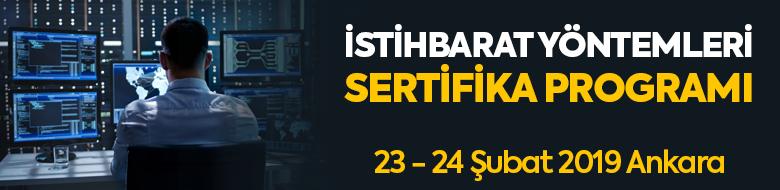 İstihbarat Yöntemleri Sertifika Programı (23- 24 Şubat 2019, Ankara)