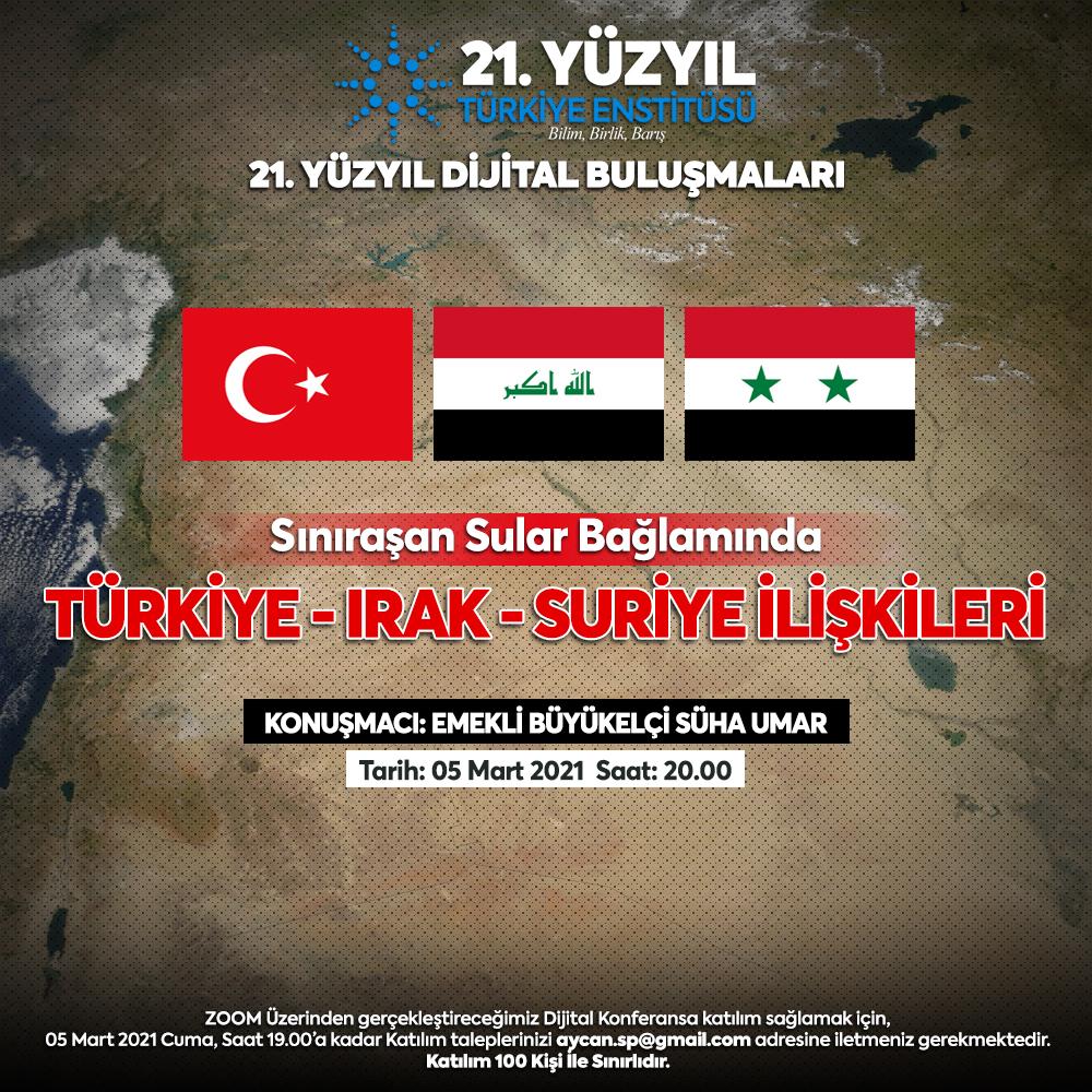 Sınıraşan Sular Bağlamında: Türkiye, Irak ve Suriye İlişkileri