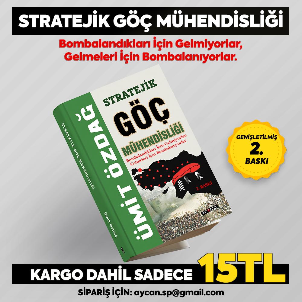 """Kitap Kampanyası: Ümit ÖZDAĞ'ın, imzalı """"Stratejik Göç Mühendisliği"""" kitabı"""