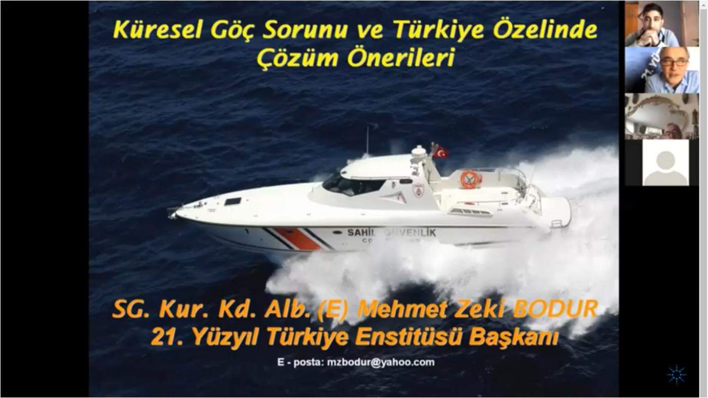 """21. YYTE Başkanı Mehmet Zeki BODUR - """"Küresel Göç Sorunu ve Türkiye Özelinde Çözüm Önerileri"""""""