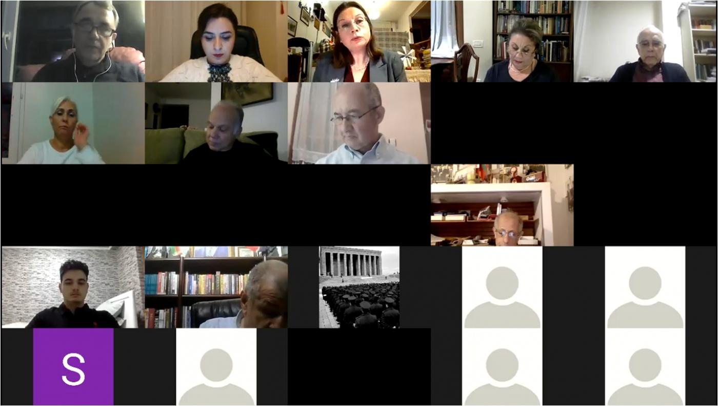"""Dijital Konferans - """"Soğuk Savaş'tan Günümüze Türkiye-İsrail İlişkileri: Değişimler ve Süreklilikler"""""""