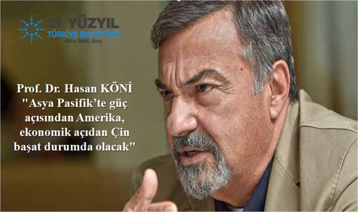 Prof. Dr. Hasan KÖNİ - 21. Yüzyıl Türkiye Enstitüsü Dijital Buluşmaları - Röportaj Serisi